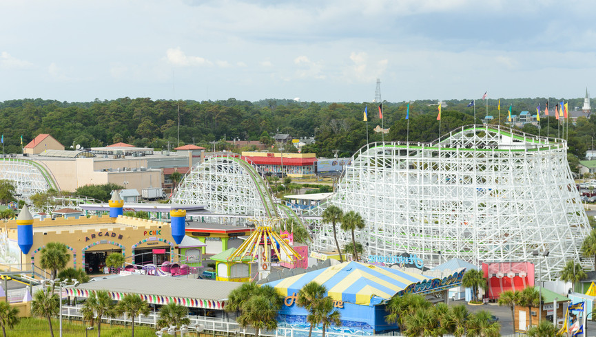 Things To Do in Myrtle Beach | Family Kingdom Amusement Park
