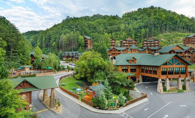 Aerial View Of Smoky Mountains Resort