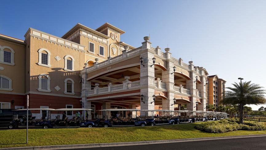 Exterior building of Westgate Town Center Resort