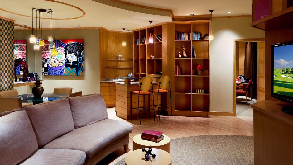 Living Area in the Park Avenue Suite | Westgate Las Vegas Resort