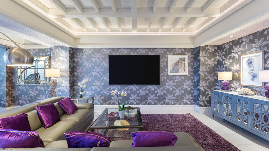 Living Area in the Bahamas Suite - Westgate Las Vegas Resort & Casino