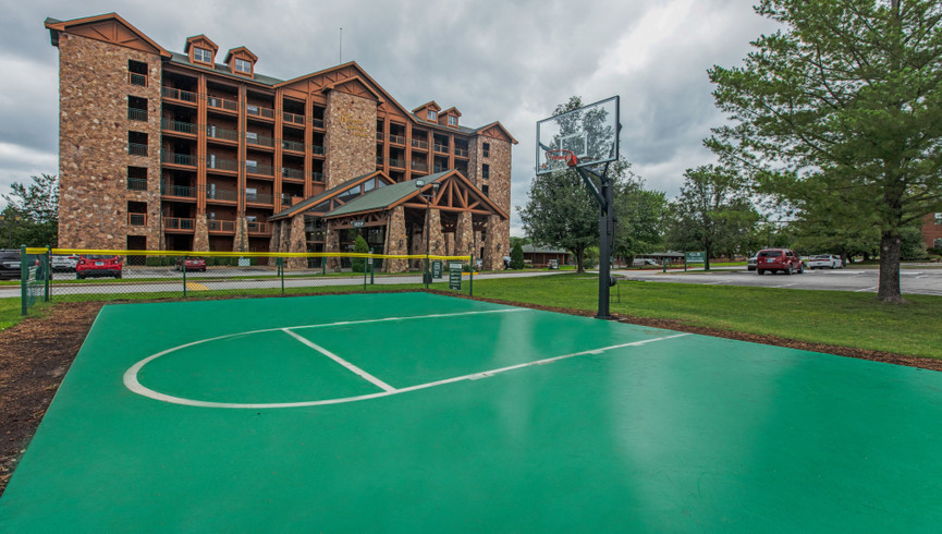 Basketball Courts for Branson Activities at our resorts in Branson MO | Westgate Branson Woods Resort | Westgate Resorts