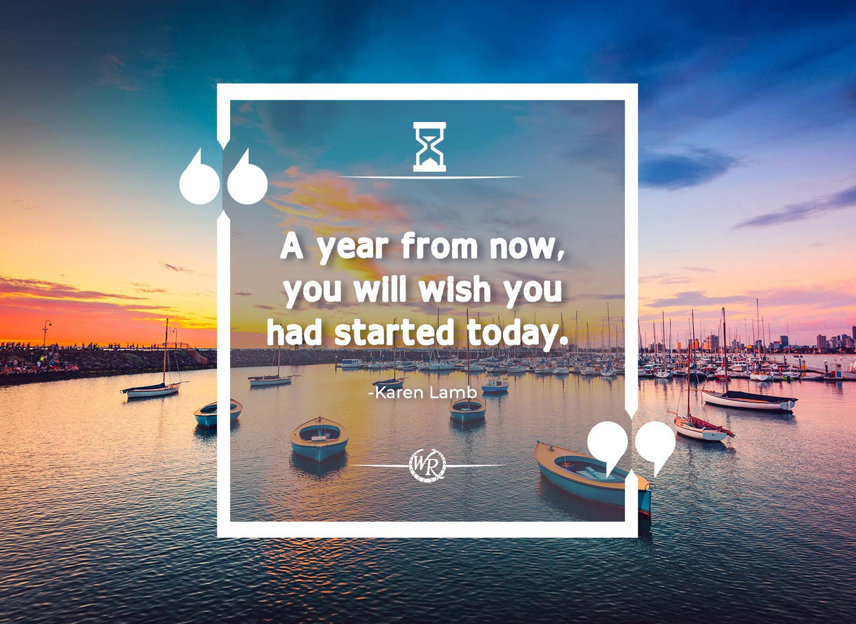 A Year From Now You Will Wish You Had Started Today Travel
