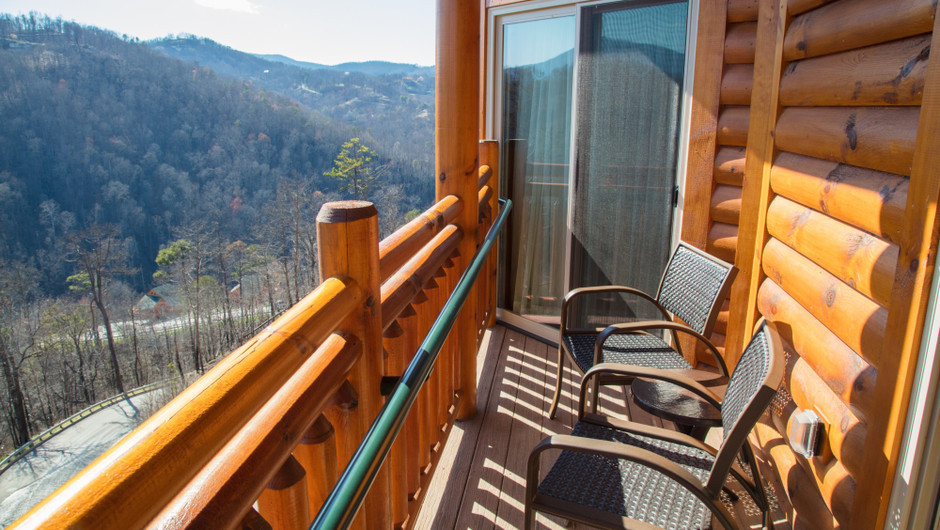 1 Bedroom Suites at Our Gatlinburg Resort near the Smoky Mountains | Balcony Views