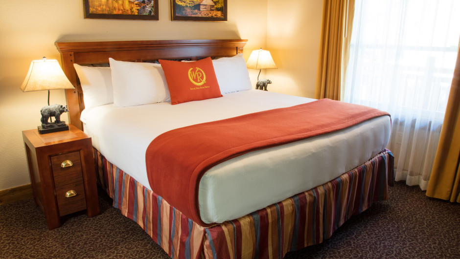 1 Bedroom Villa Suite at Our Gatlinburg Resort near the Smoky Mountains | Spacious Bedroom