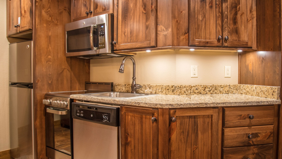 1 Bedroom Villa Suite at Our Gatlinburg Resort near the Smoky Mountains | Comfortable Kitchen