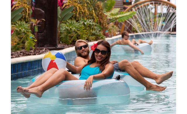 Aloha Tiki Bar at Westgate Cocoa Beach Pier near our Cocoa Beach Hotel | Lazy River