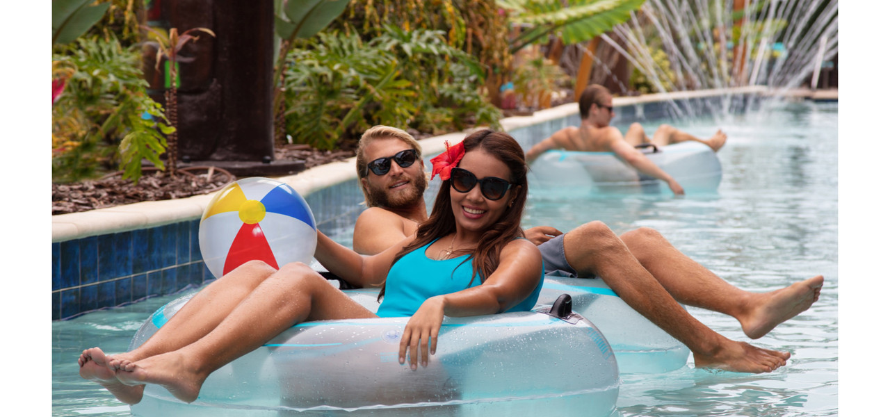 Water Parks Resort in Florida at our Hotel near Cocoa Beach | Water Park Lazy River