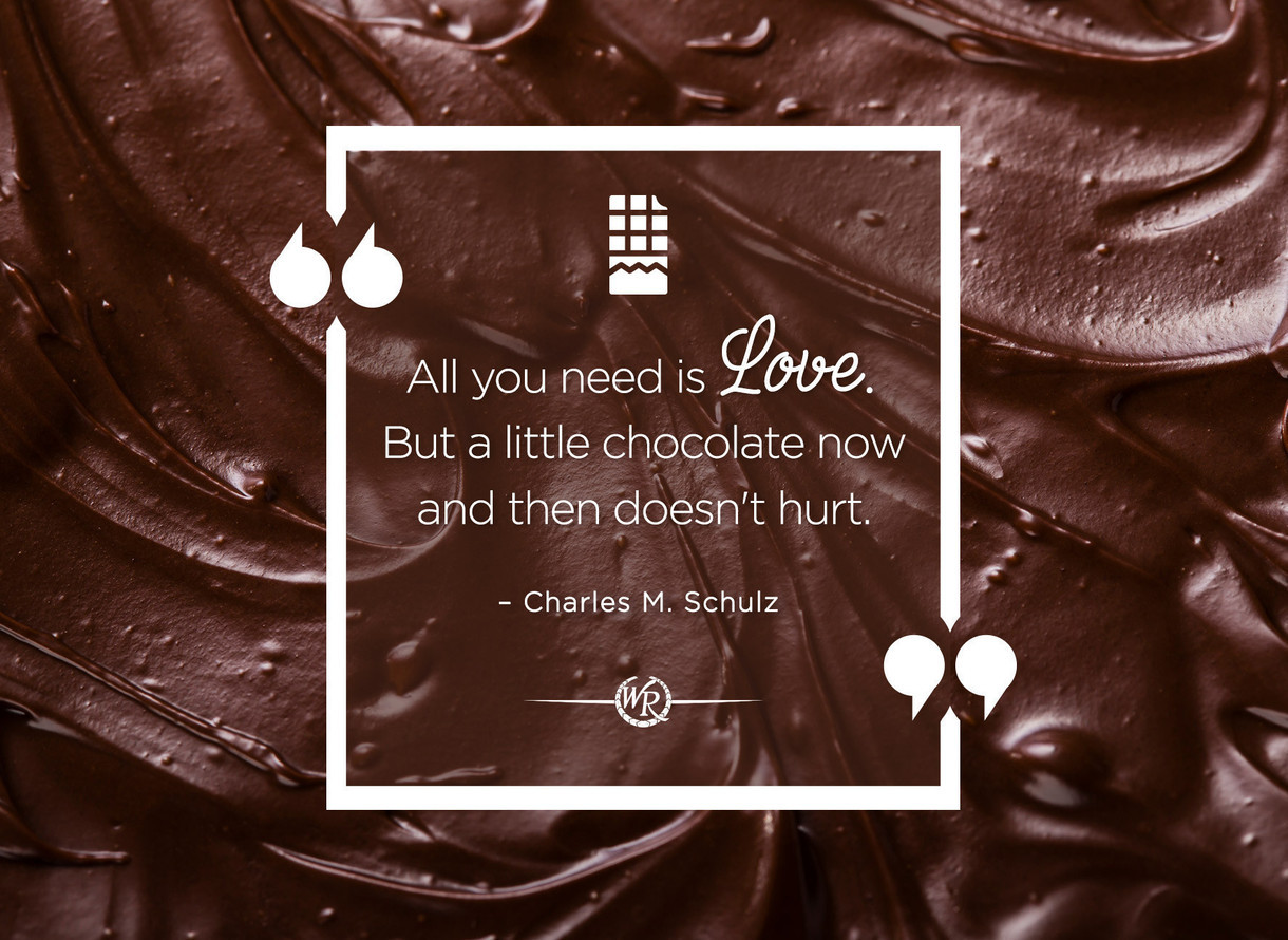 All You Need Is Love But A Little Chocolate Now And Then Doesnt