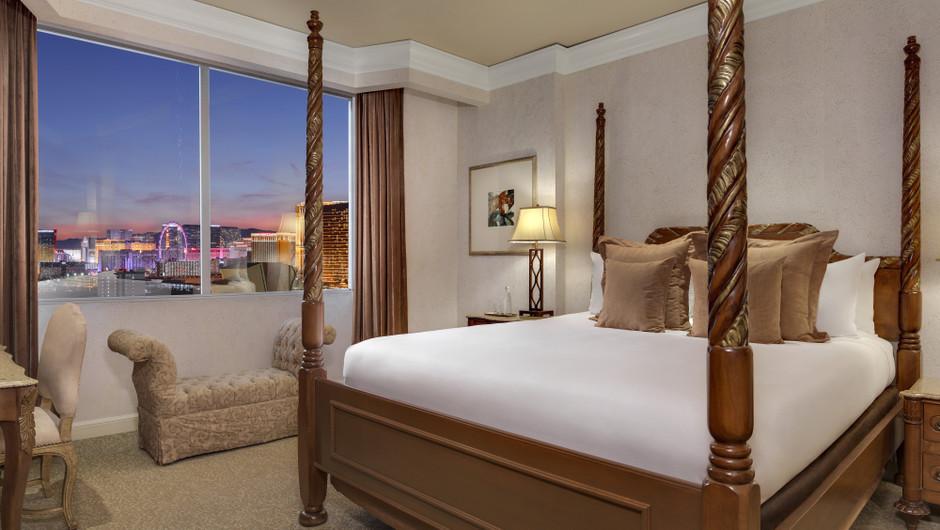 The Napa Suites Bedroom - Westgate Las Vegas