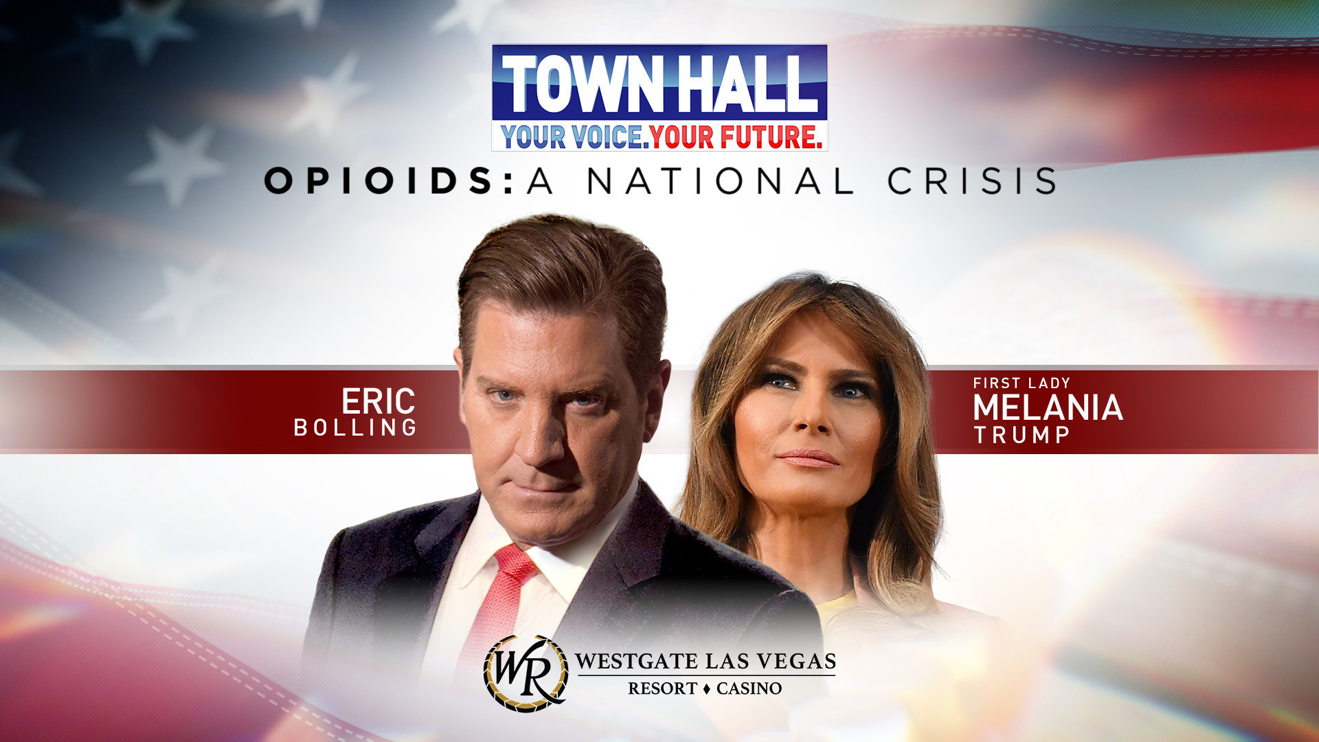 Melania Trump's town hall set for the International Theater at Westgate Las Vegas Resort & Casino