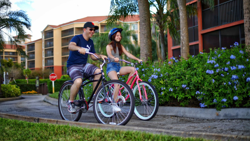 Hotel Bicycle Rentals in Orlando, FL |  Westgate Lakes Resort & Spa | Westgate Resorts
