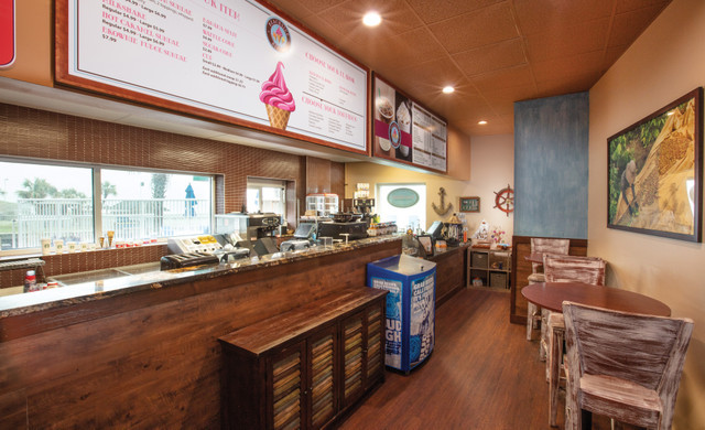Beachside Restaurant in Myrtle Beach, SC | Beachside Bistro Ice Cream