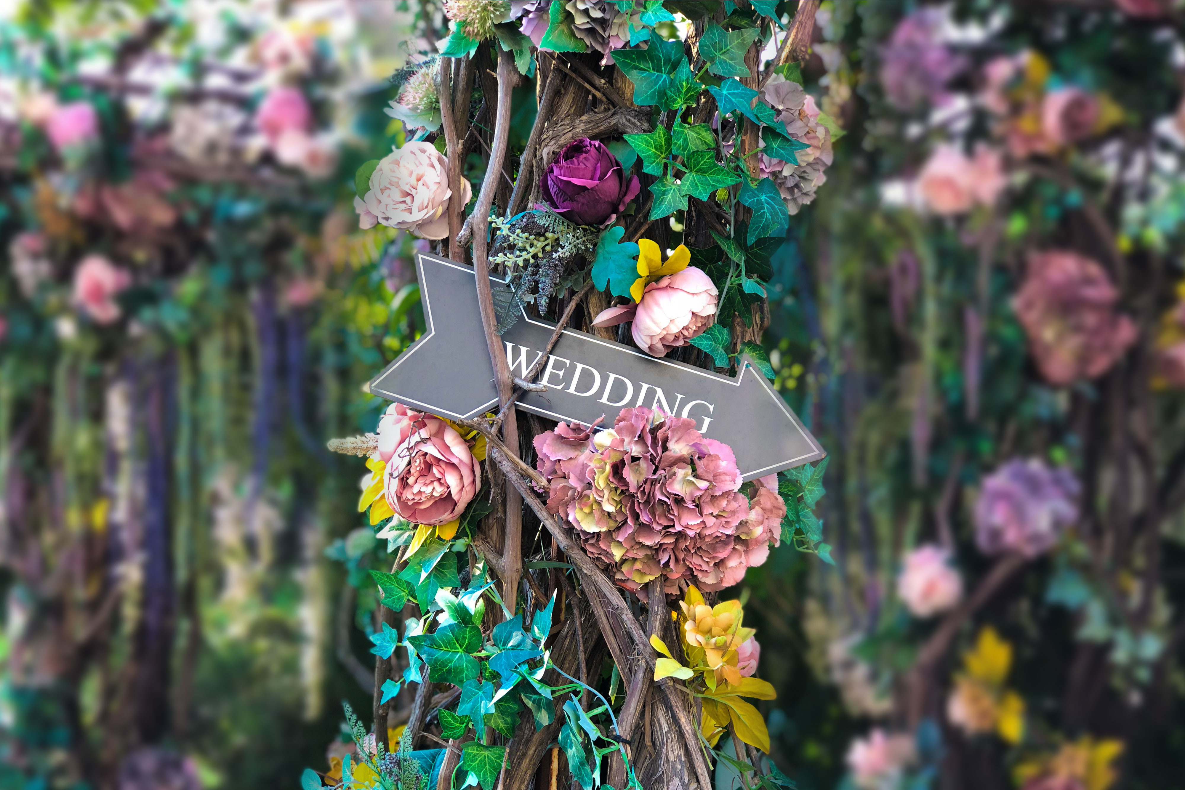 Smoky Mountain Wedding Reception Sites - Wedding Sign