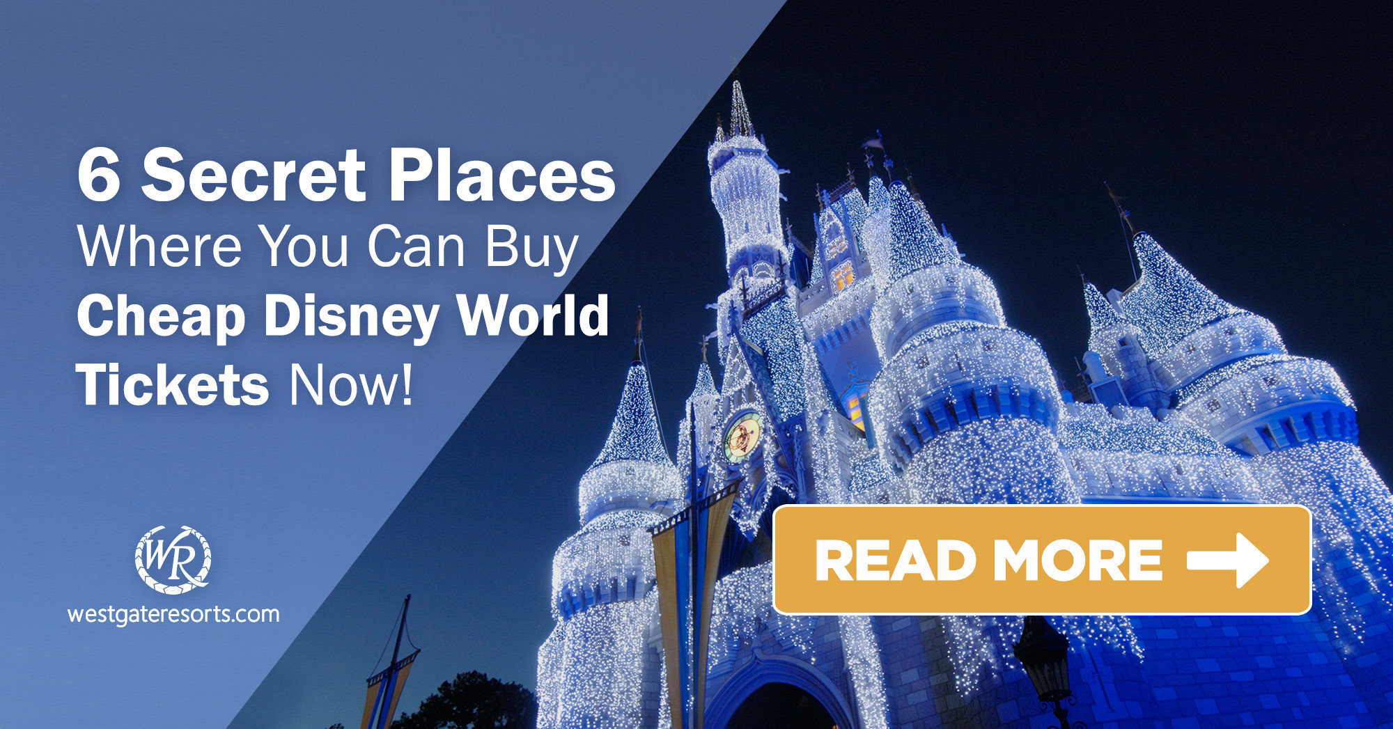 6 Secret Places Where You Can Buy Cheap Disney World Tickets Now!  | Cheap Disney Tickets