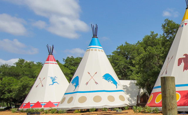 Glamping Teepees for Glamping Birthday Parties at Westgate River Ranch Resort & Rodeo