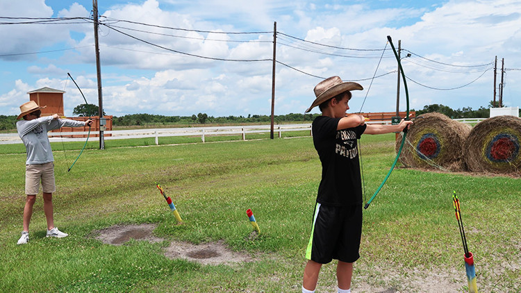 Family Archery Lessons | Best Family Dude Ranch Vacations | 10 Things To Do On Your Family Dude Ranch Vacation