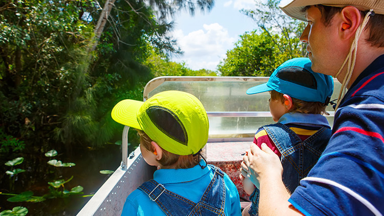 Family on Swamp Buggy | Best Family Dude Ranch Vacations | 10 Things To Do On Your Family Dude Ranch Vacation