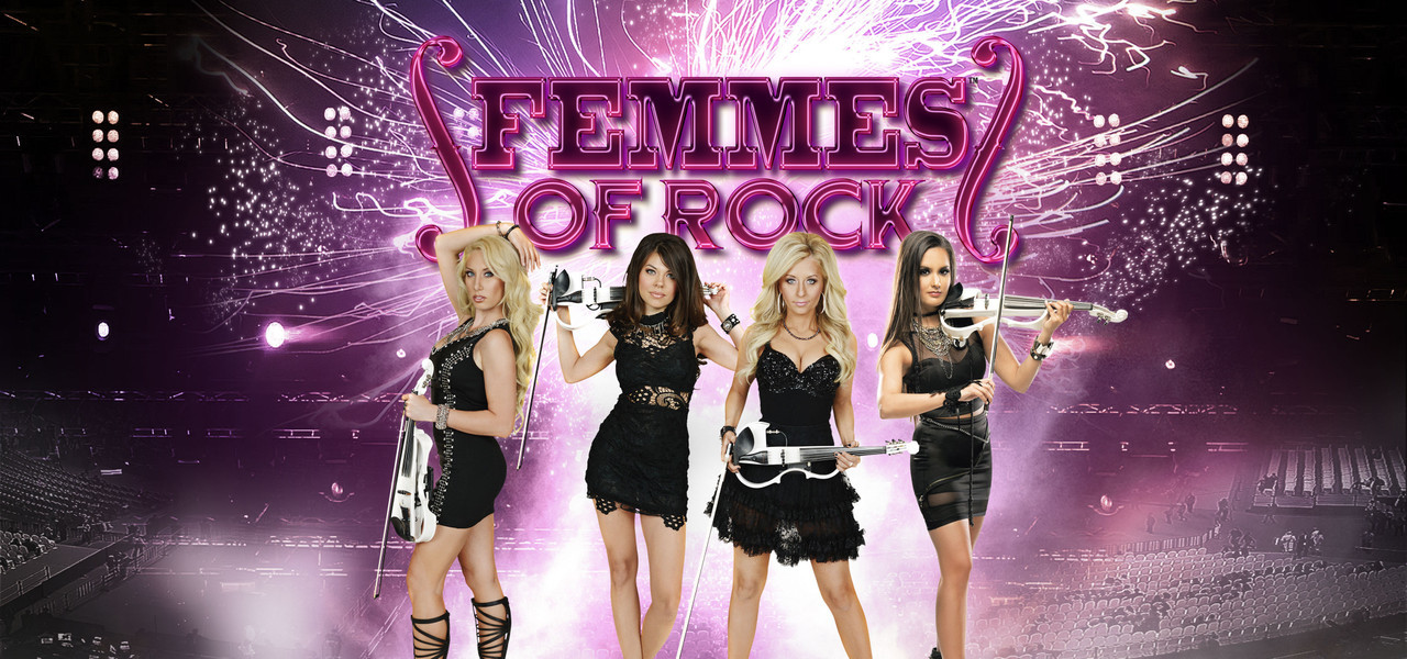 The Femmes of Rock Starring Bella Electric Strings are Back in Las Vegas!
