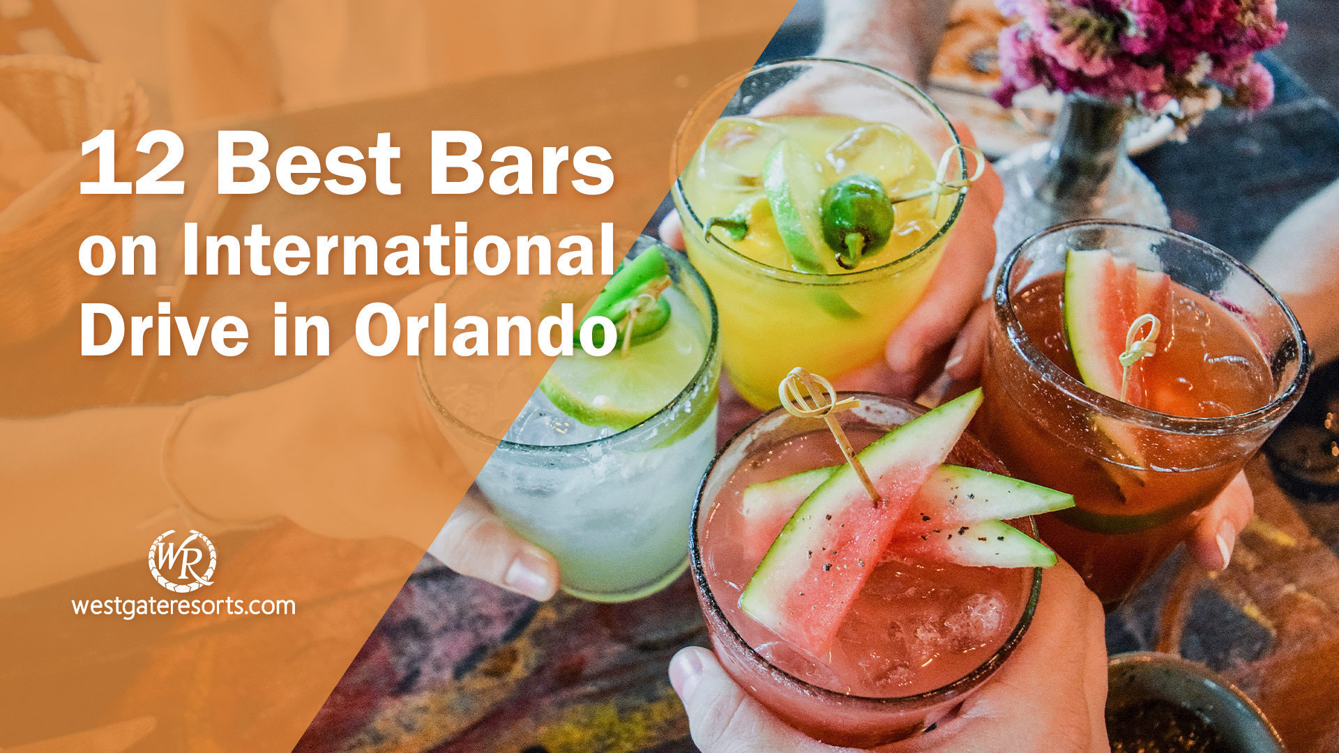Looking for the best bars on International Drive in Orlando, FL? Dive in and wet your whistle with these awesome watering holes that litter the world-famous I drive in Orlando Florida! For the best pubs, bars, and cocktails on I drive, stick with Westgate!
