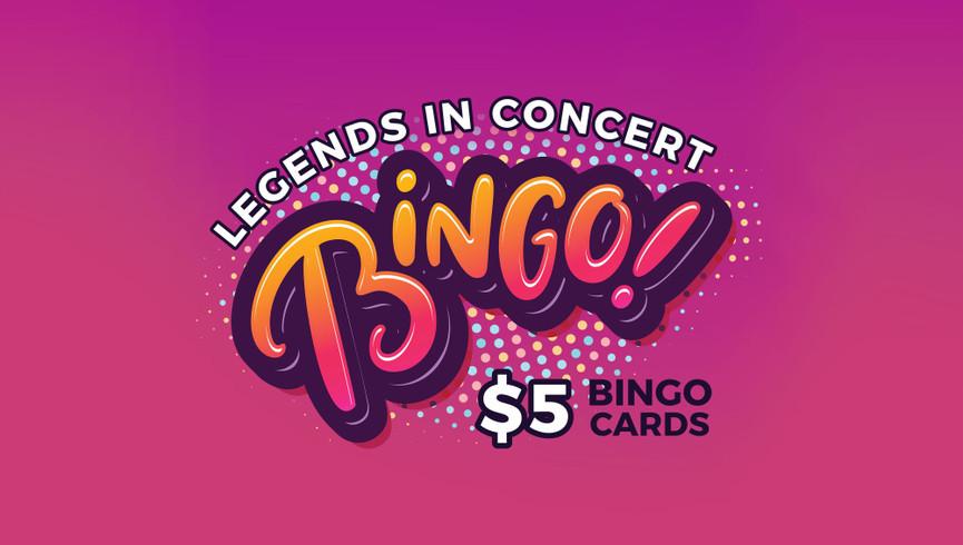 Things To Do in Myrtle Beach | Legends in Concert Bingo