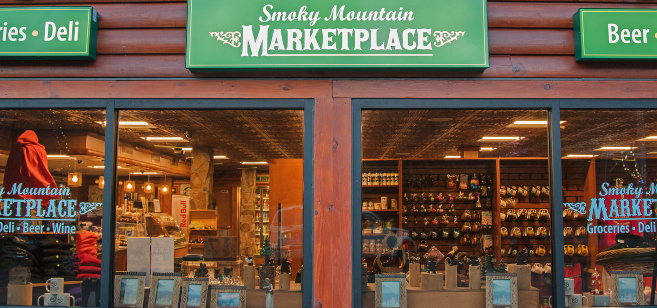 Marketplace at Our Gatlinburg Resort near the Smoky Mountains | Storefront