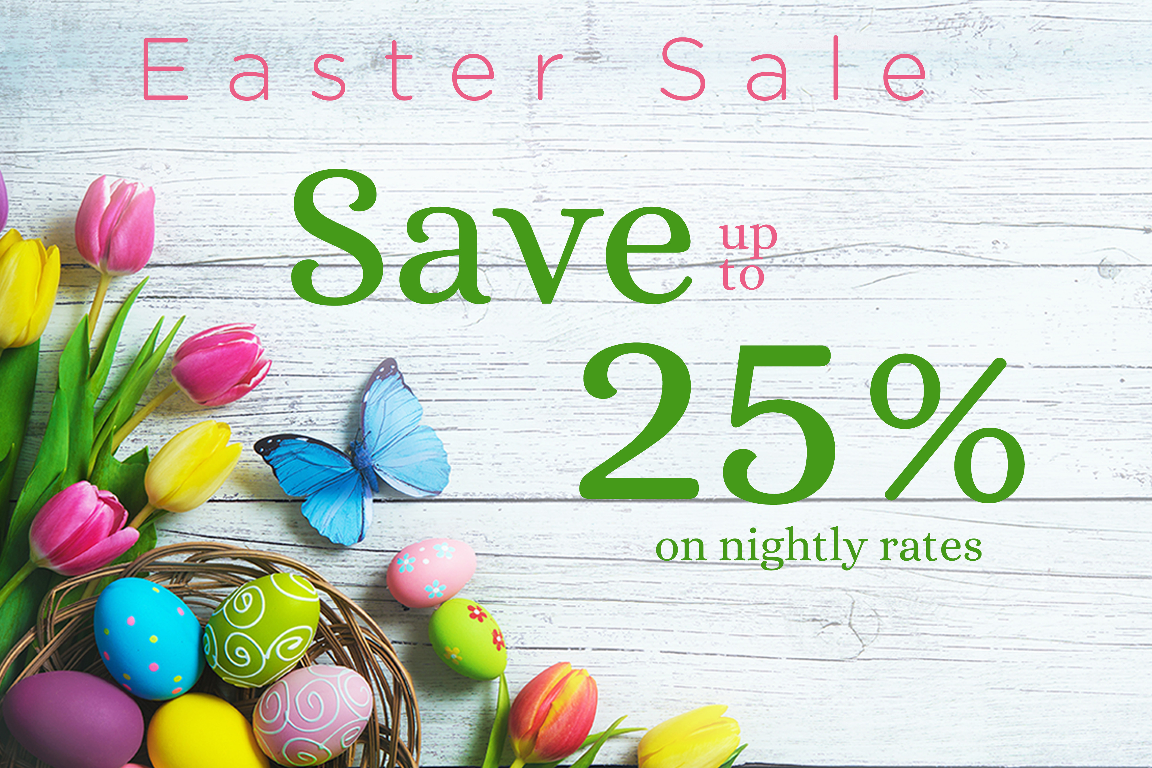 Last Minute Easter 2019 Hotel Rates Save Up to 25% Off on Nightly Rates with Westgate Resorts