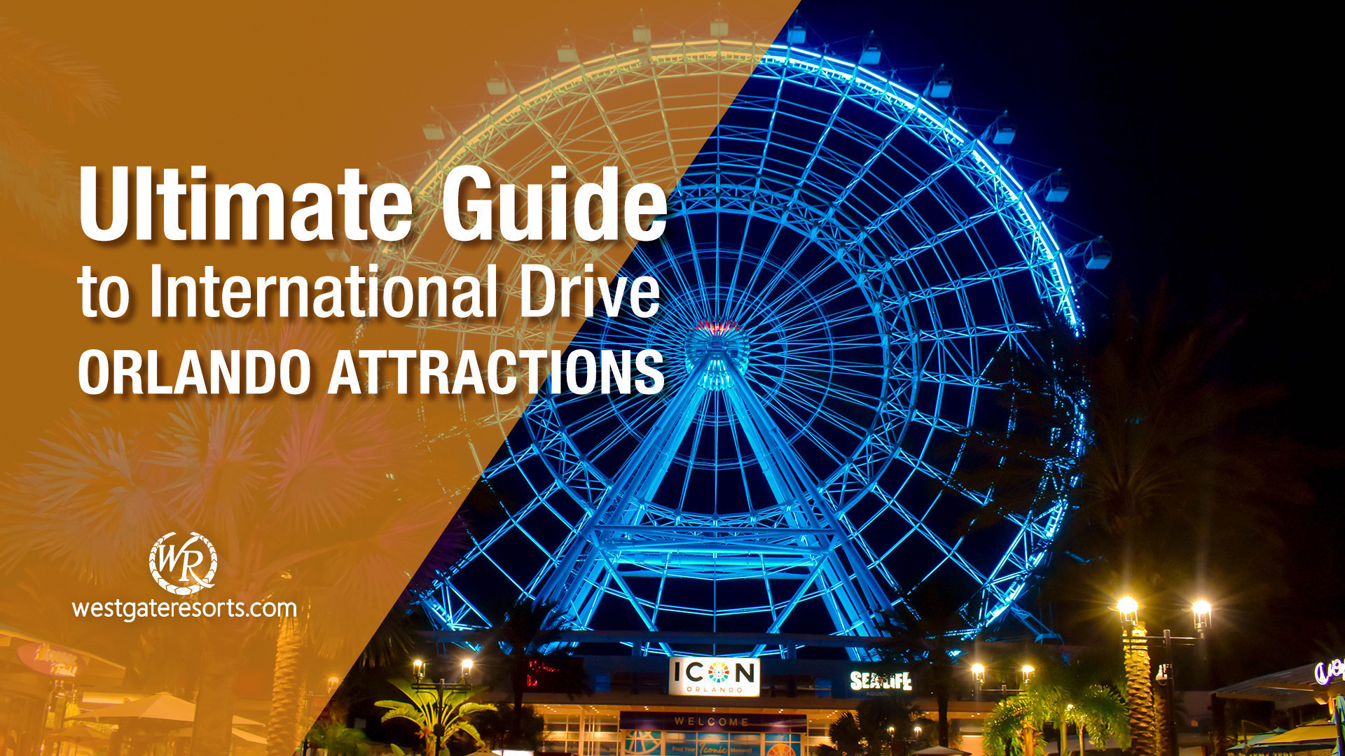 The Ultimate Guide to International Drive Orlando Attractions | Best Of I Drive Attractions, Food & Drinks