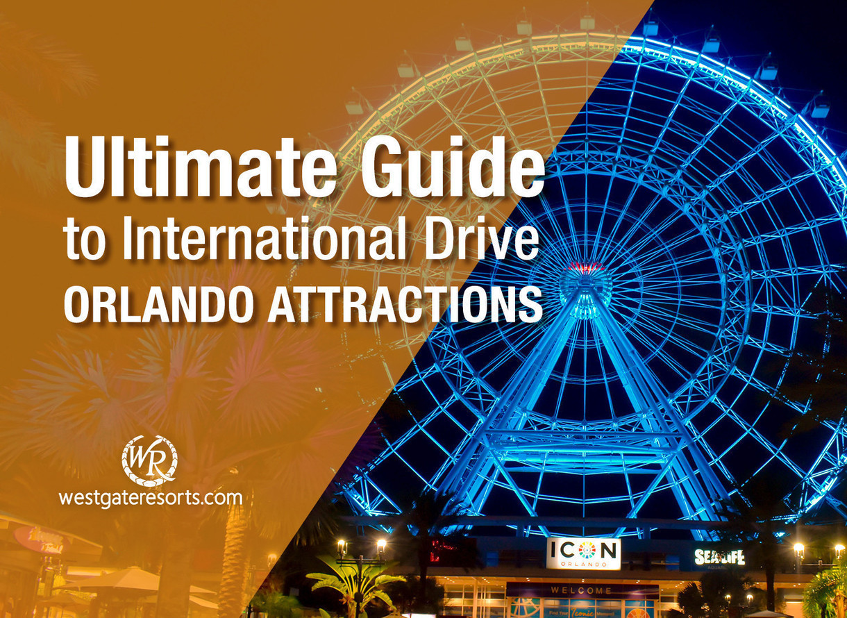 map of i drive orlando The Ultimate Guide To International Drive Orlando Attractions map of i drive orlando