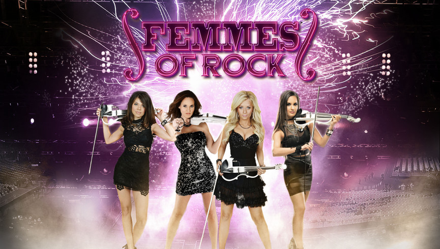 The Femmes of Rock Starring Bella Electric Strings are Back in Las Vegas!