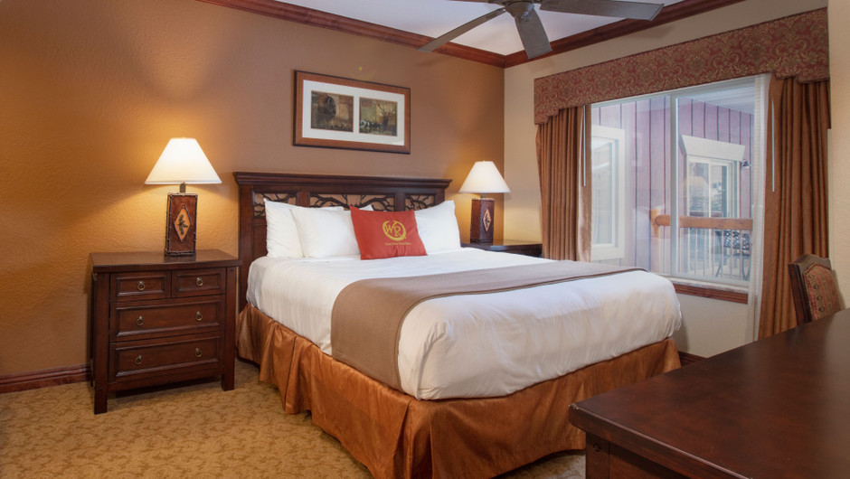 Bedroom in our Luxury Two-Bedroom Villa - Park City Resort in Utah | Westgate Park City Resort & Spa | Westgate Resorts