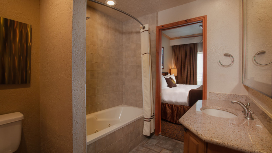 Bathroom in our Signature Four Bedroom Loft - Park City Resort in Utah | Westgate Park City Resort & Spa | Westgate Resorts