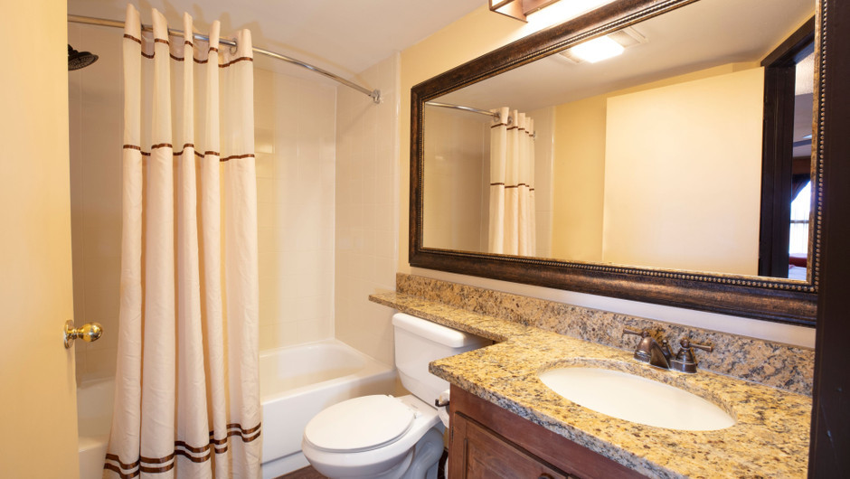 Bathroom in the Deluxe Lodge Suite -  Westgate River Ranch Resort & Rodeo