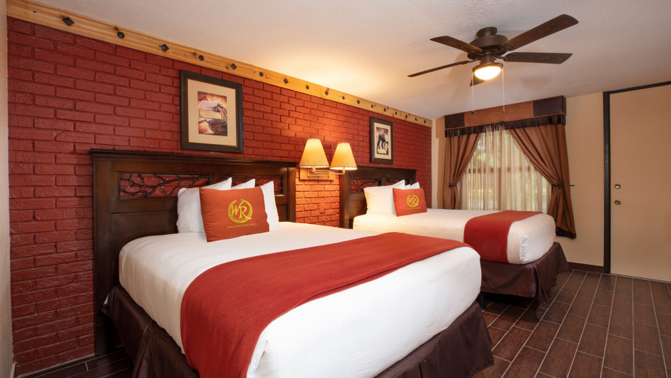 Bedroom in our Premium Lodge Suite -  Westgate River Ranch Resort