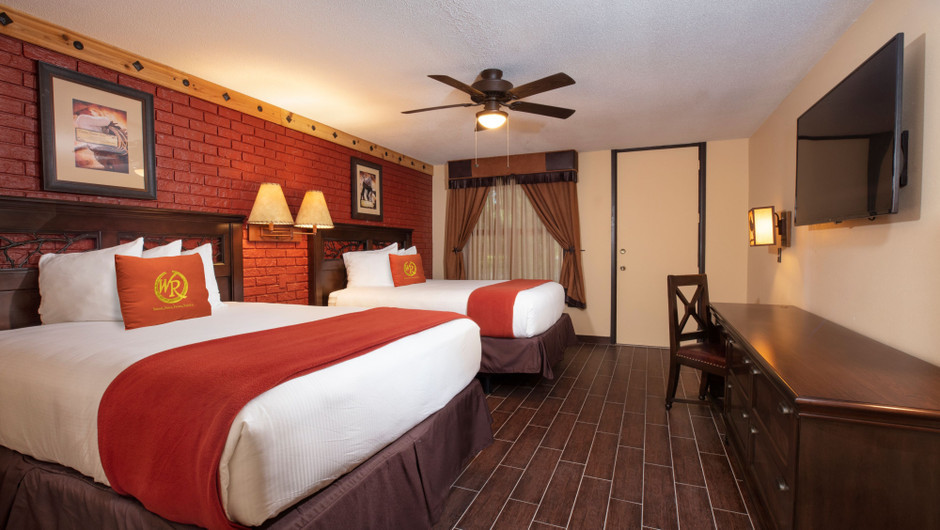 Bedroom in our Premium Lodge Suite |  Westgate River Ranch Resort & Rodeo | Westgate Resorts