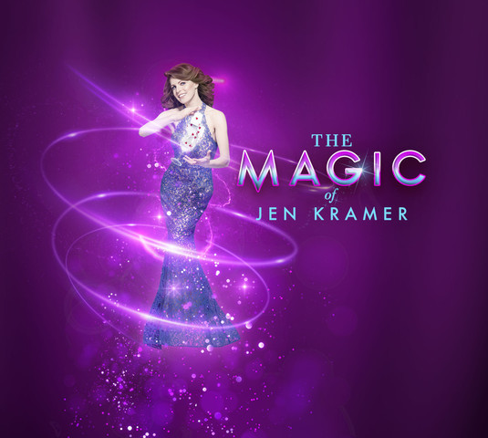 Mind-boggling magic and mentalism, comedy, and audience participation with Jen Kramer | Las Vegas Acts