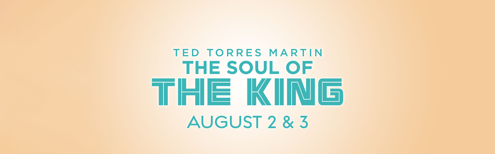 See Ted Torres Martin, Internationally-Renowned Elvis Artist on August 2 & 3, 2019 as he returns to Westgate Las Vegas Resort & Casino.with special guests The Sweet Inspirations.
