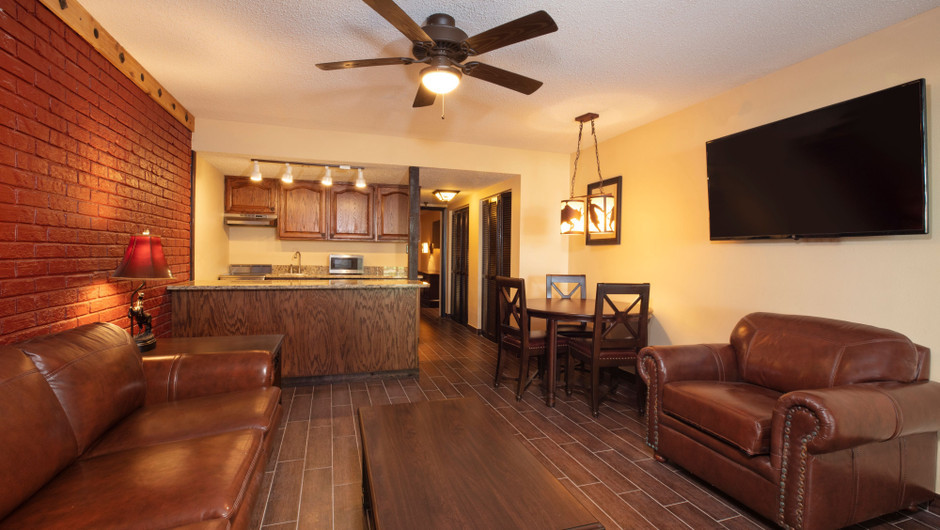 Living Area in our Premium Lodge Suite |  Westgate River Ranch Resort & Rodeo | Westgate Resorts