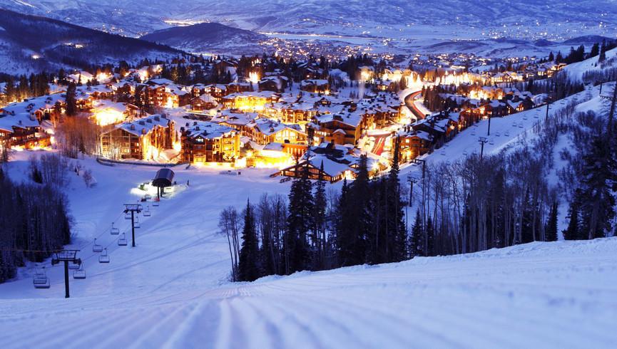 Best Things To Do In Park City Utah | Night Scene