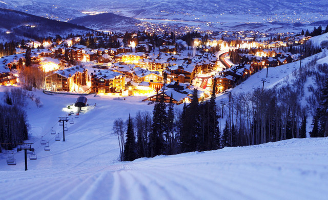 Best Things To Do In Park City Utah In Summer | Night View Of Our Hotel