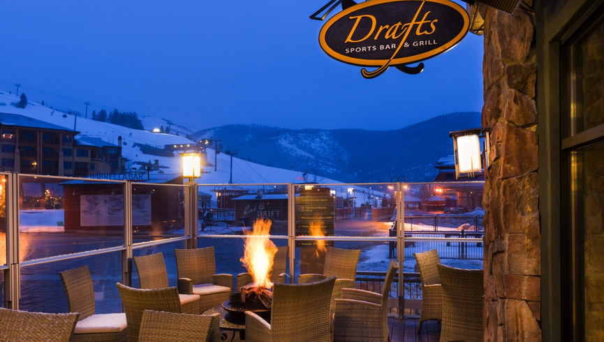 Best Things To Do At Night In Park City Utah | Bar At Our Hotel In Park City