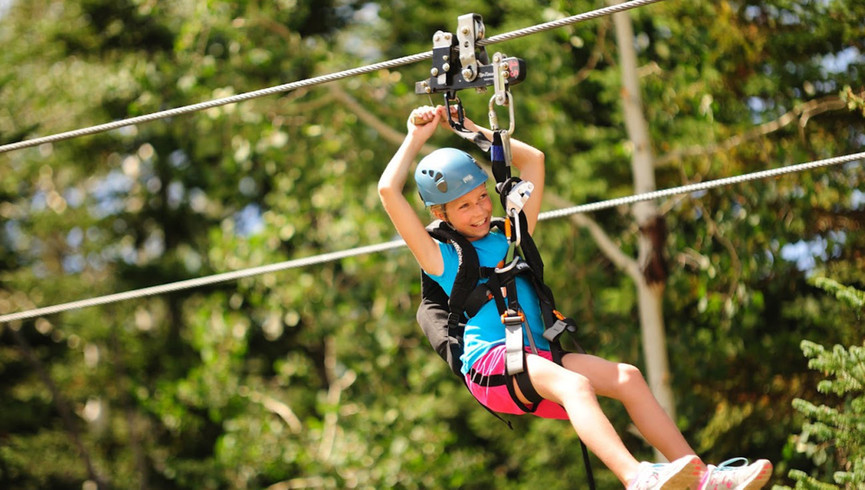 Fun Things To Do In Park City Utah With Kids | Zip-lining Near Our Park City Hotel