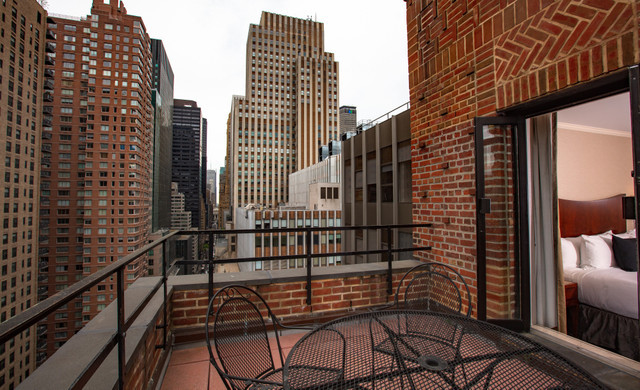 Hotel Rooms In NYC with Balconies
