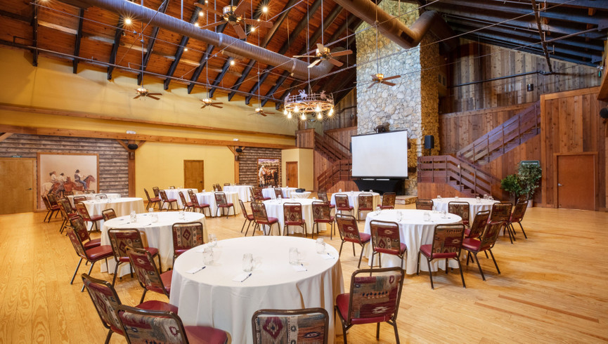 Classic Wedding Venues in Central Florida at Westgate River Ranch | Grand Hall
