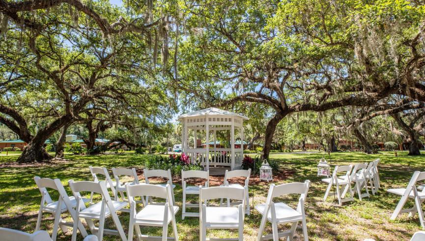 Outdoor Weddings in Central Florida | Wedding Gazebo