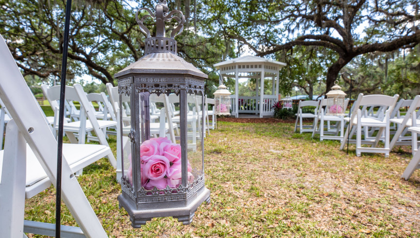 Outdoor Weddings in Central Florida | Wedding Gazebo