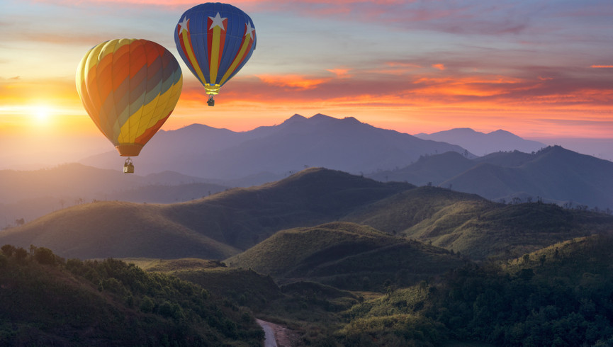 Best Things To Do In Park City Utah In Summer | Hot Air Ballooning