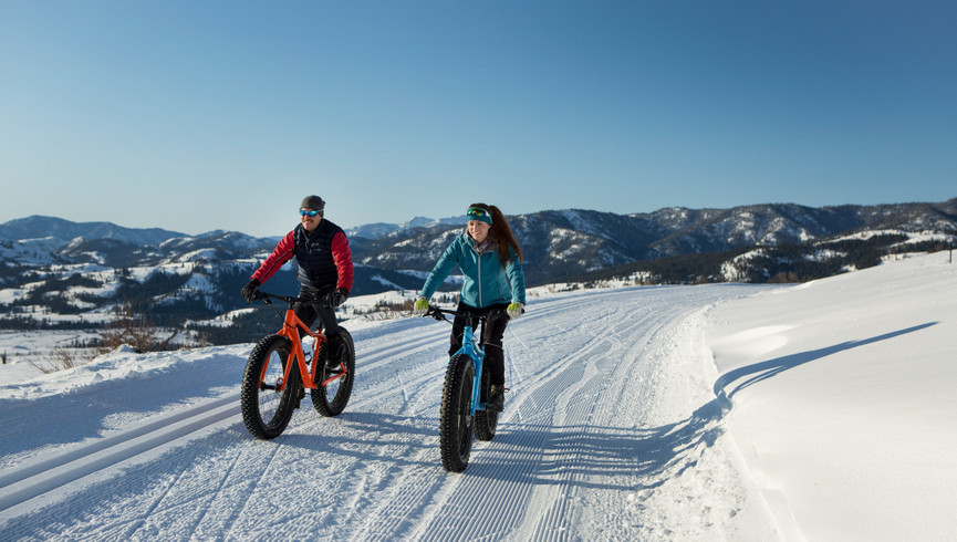 Best Things To Do In Park City Utah In Winter | Snow Biking Near Our Park City Hotel