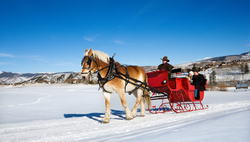 Romantic Things To Do In Park City Utah | Sleigh Rides Near Our Park City Utah Hotel