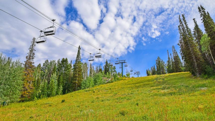 Free Things To Do In Park City Utah | Ski Lift Near Our Hotel In Park City Utah